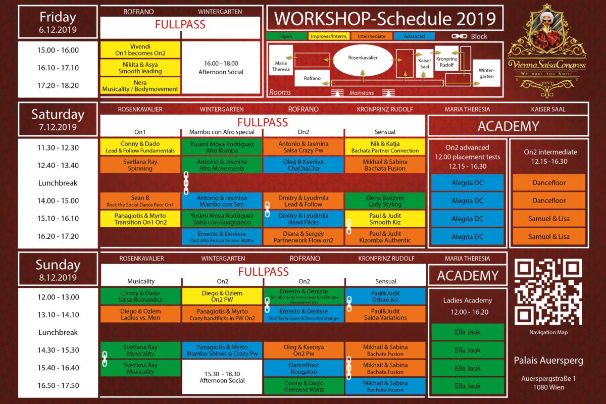 VSC 2019 Programmheft Programm